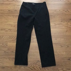 TALBOTS. Black dress pants